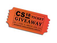 CS18 Ticket Giveaway