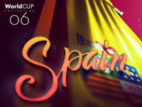 My WorldCup Design Collection 6/33 | Spain 🇪🇸