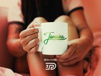 Jamaica Script Mug 🇯🇲