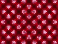 DP Hearts Pattern Design