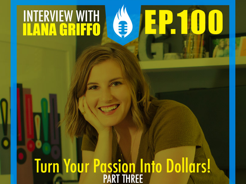 Ilana Griffo darold pinnock passion behind the art calligraphy dpcreates interview podcasting typography design podcast