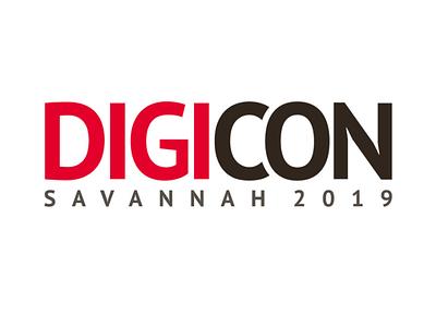 DigiCON Logo vector daroldpinnock design alphabet lettering logotype logo typography darold pinnock dpcreates