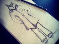 Comic Character Sketch