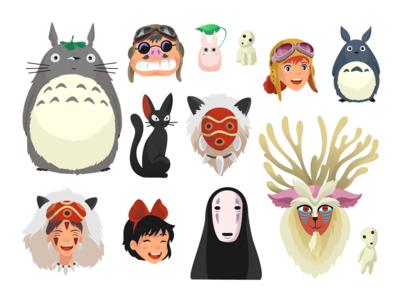 Ghibli Characters/ Part 1