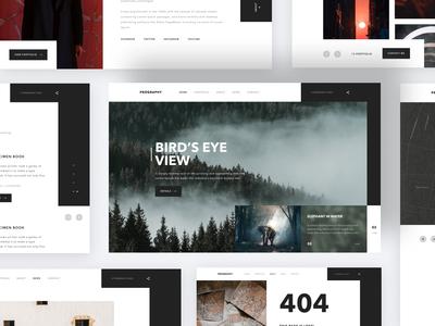 Prography personal portfolio web design