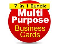 Multipurpose Business Cards Bundle