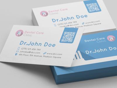 Dentist business card by mohamed mounir fekri dribbble colourmoves