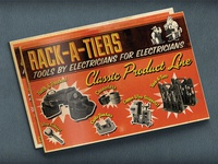 Catalog Design: Rack-A-Tiers Specialty Electrical Tools