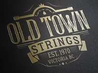 Old Town Strings Logo Design