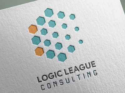 Logo Design: Logic League Consulting vancvouver island victoria typography design typeography victoria bc vancouver island print branding logo consulting