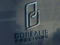 Logo Design & Branding: Borealis Precision