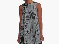 Satanic Panic: Textile Design