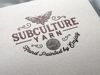 Logo Design: SubCulture Yarn