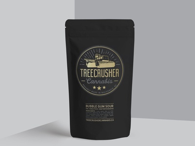 Logo & branding Design: TreeCrusher Cannabis