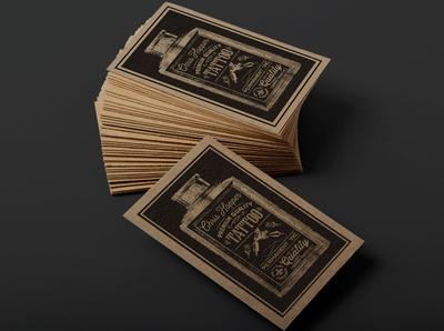 Business Card Design: Chris Hopper Tattoos, NOLA