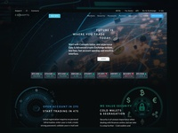 Coinopts.com website design - Home page