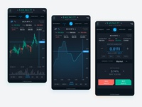 Coinopts Trading Terminal   On Mobile   Designed By Ziverts Whit