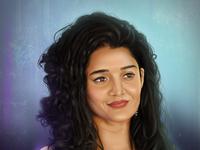 Ritika Singh | Portrait Digital Painting ritika singh ritika singh adobe dribbble drawaing people portrait painting photoshop illustration digital paint digital 2d