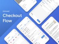 Improved Checkout Flow uidesign ui flow stepper checkout