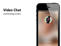 Video Chat Connecting Screen