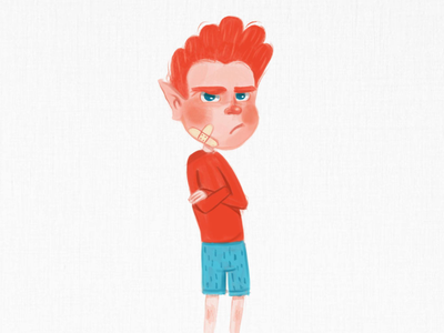 Angry boy graphicdesign digital flat vector behance drawing dribbble design illustration