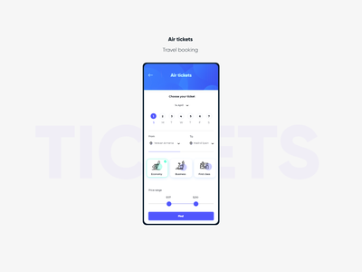Air tickets vector website isometric blue ux ui app illustration drawing design