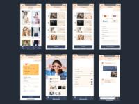 Fashion Mobile App UIUX Design