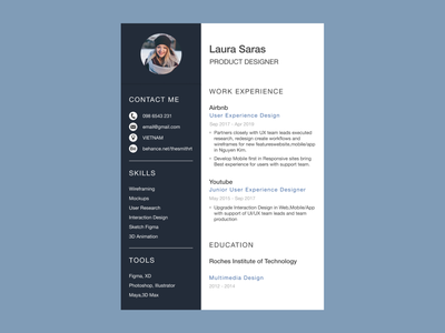 CV Templates Free Download _ Figma cv resume template cv template cv ux ui uxdesign design uiuxdesign