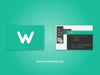 Wecoprod Business Card
