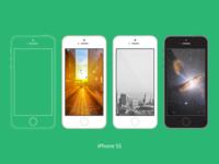 iPhone 5s vector