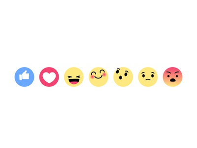 Facebook emotions by Sébastien Grégoire - Dribbble