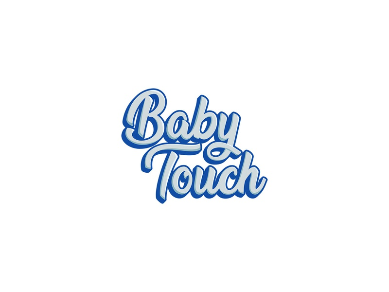 Baby Touch perfume perfu baby typogaphy logodesign logotype saudi arabia vector logo branding illustrator graphic design graphic design