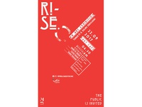 RISE Exhibition - Poster III