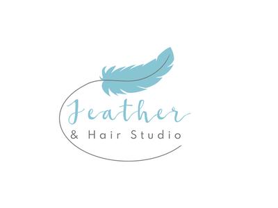 Logo for hair studio