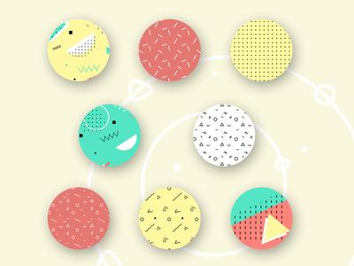 Memphis pattern, part2