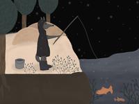 Dark fisherman