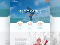 Travel Concept Landing page