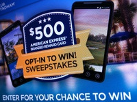Email Sweepstakes