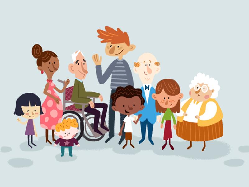 People illustration people