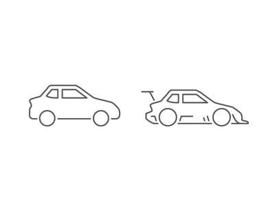 Auto Tuning icon design ui car tune tuning nitro modified auto jdm hellaflush track racing
