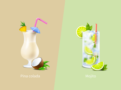 Cocktail pina colada mojito ice soda drink coconut bar beverage cocktail milkshake liquor