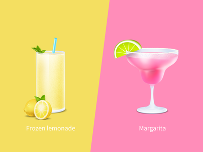 Cocktail mint summer lemon frozen lemonade margarita liquor drink party bar beverage cocktail