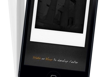 Instant Polaroid  instant polaroid ios camera photo instagram iphone ipa mac