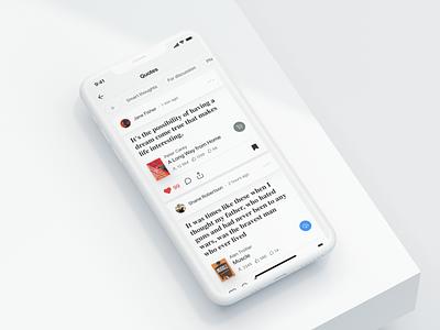 ReadX – Mobile Reading App clean product bookstore bookshop books reading reading app product design design app ux ui design app