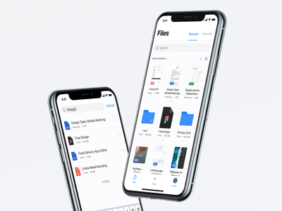 ☁️ Cloud File Manager – FileX trand file manager cloud clean fintech flat product design app ux ui design app