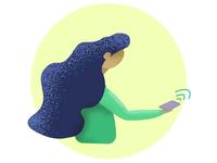 Flat Character Illustration #2