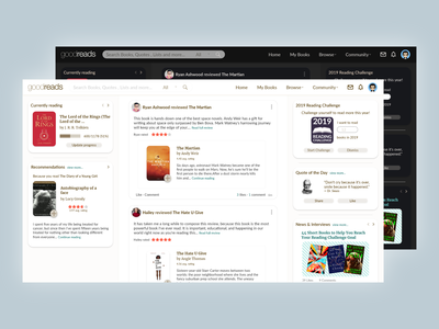 Goodreads Heuristic Redesign