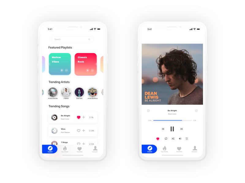 Music Player music apple clean music player ui music player app music player music app ux ui ui ux ux design ui design ui ux design