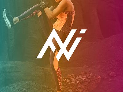 FWI monogram 🏃♀️🏃♂️👟 monogram logo monogram training running fashion brand clothing sport logo sport