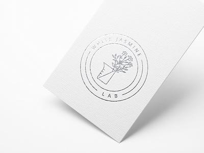White Jasmine Lab 💐 bouquet resin jasmine lab art wedding flower